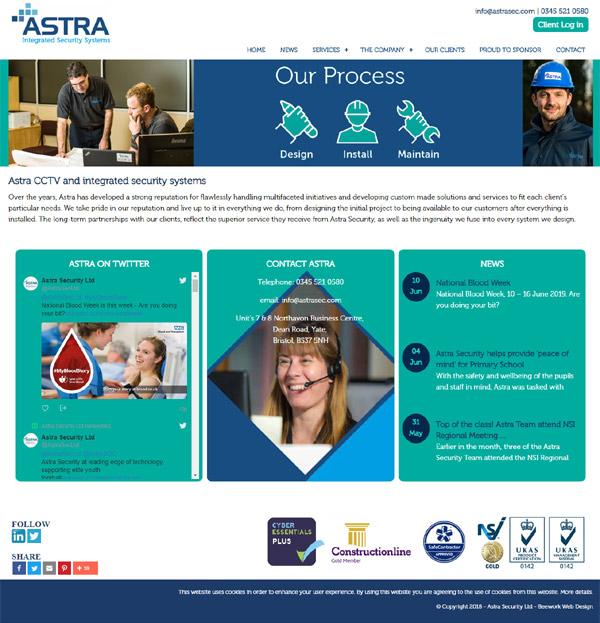 Astra Security Ltd Web Design
