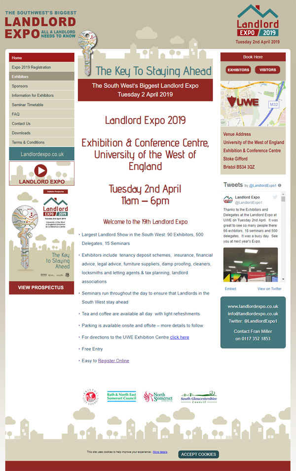 Exhibition Web Design